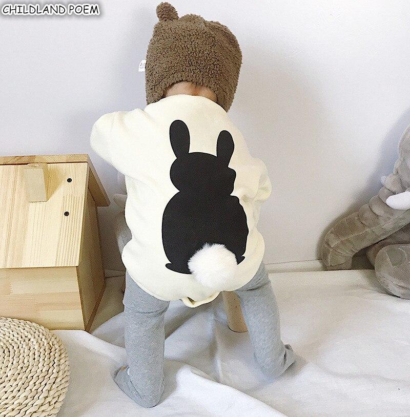 Baby   Rompers   Winter Fleece Baby Clothes For Girls Boys Jumpsuit Bunny Newborn Baby Girl   Romper   Boy Infant Baby Sweatshirt