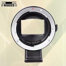 Ef-nex ii enfoque automático lente adaptador de montaje para canon ef lente para sony nex e-mount cámaras nex3 nex5 nex6 para sony a7r a7 a6000 A5000