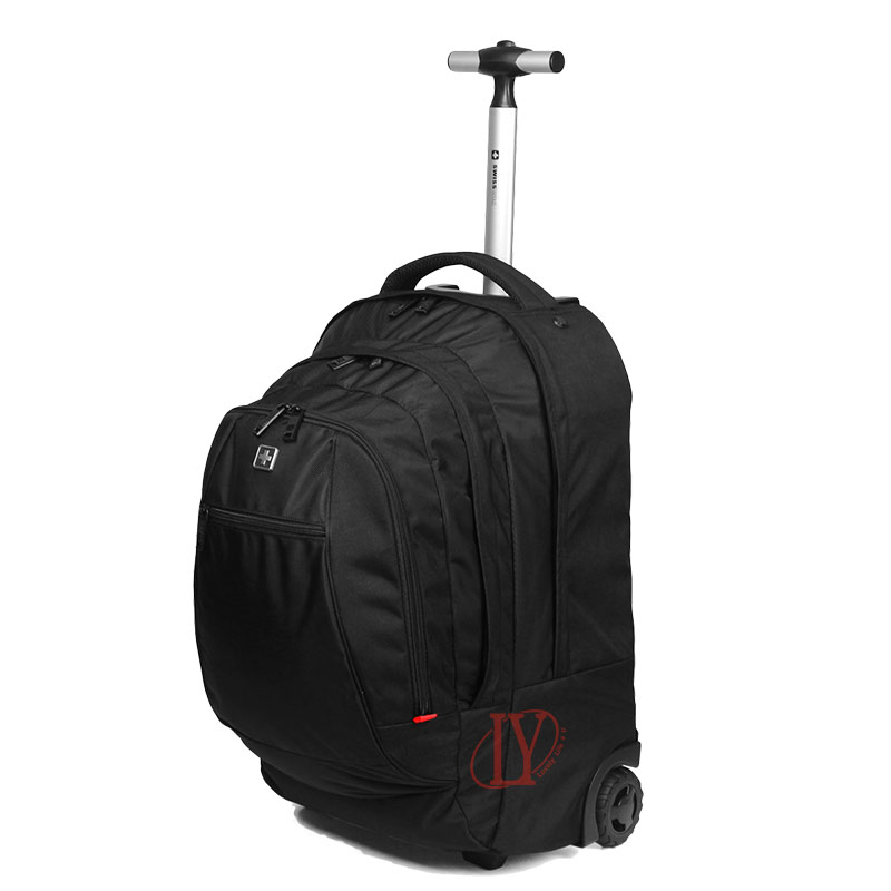 Aliexpress.com : Buy Hot Sale Swiss Gear Wheeled Backpack Black ...