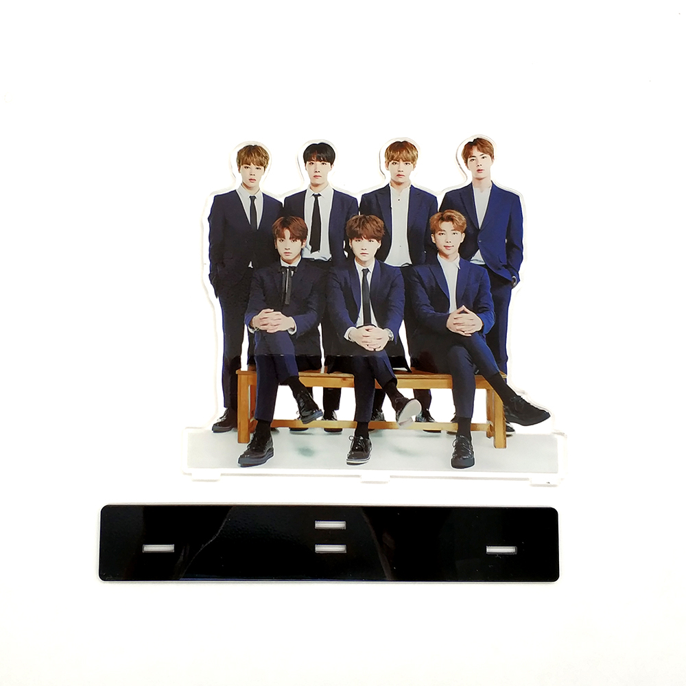 Love Thank You KPOP bangtan boys formal wear group family acrylic stand figure J-Hope Jimin Jin Jung Kook Rap Monster SUGA V(China)