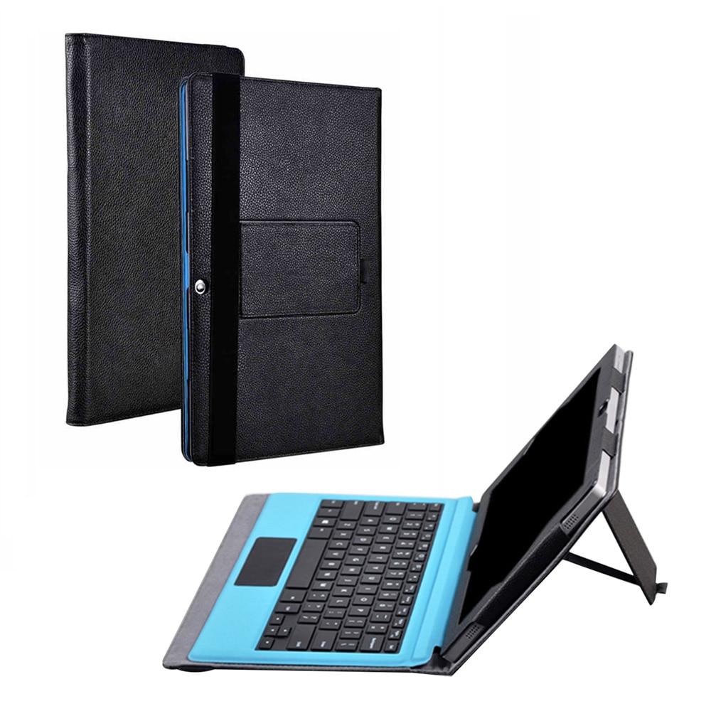 Pour Teclast TBOOK 16 Puissance TBOOK 16 S Cas Litchi Grain PU Housse En Cuir pour Teclast TBOOK 16 S 11.6 pouces Tablet cas + Stylus