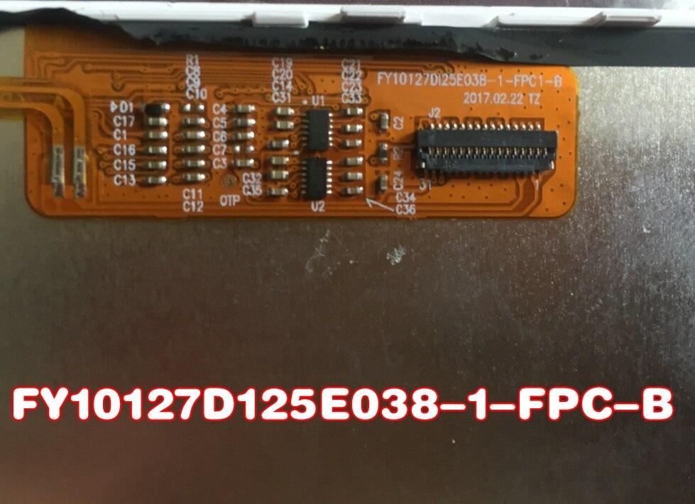 10.1 POUCES lcd affichage FY10127DI25E038 FY10127DI25E038-1-FPC1-B Pour LCD matrice TABLET Écran D'affichage TABLET pc remplacement