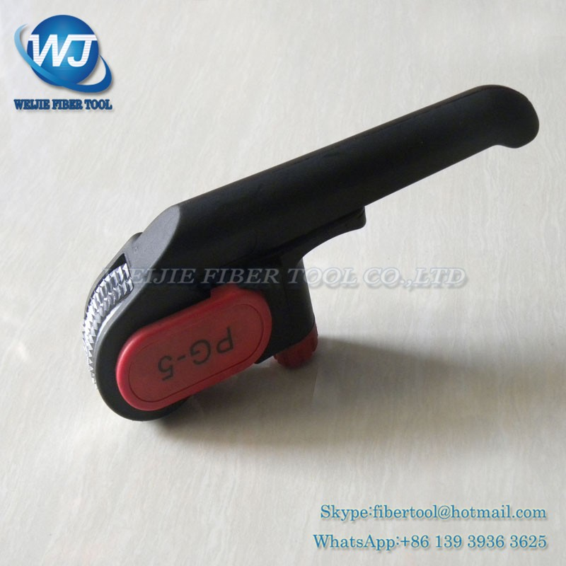 Fiber optic cable protective layer stripping device PG-5 (9)