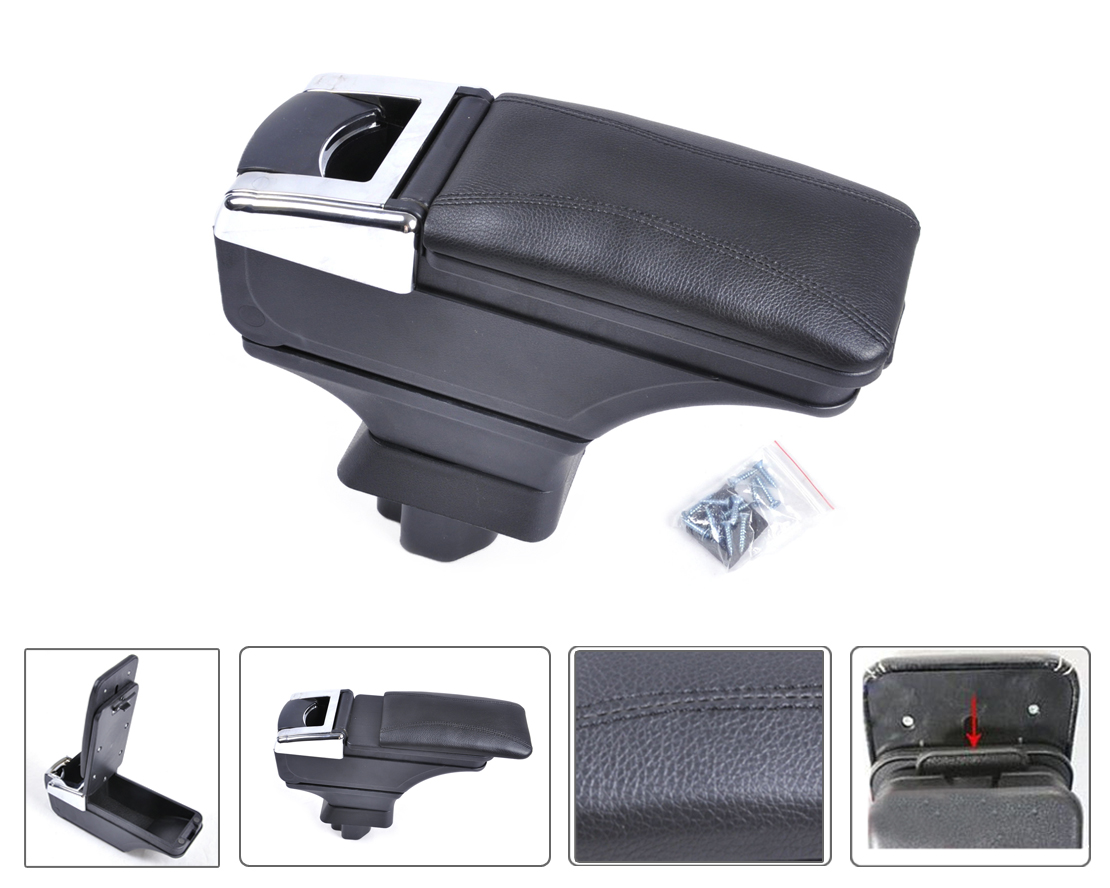 CITALL Fashion Storage Box Armrest Center Console with Hardware For Nissan Versa Tiida Latio 2007 2008 2009 2010 2011