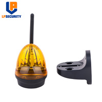 Mini luz de advertência exterior da porta ac/dc 12 v 265 v conduziu a luz piscando lâmpada de alarme amarelo|Lâmpada de alarme|Segurança e Proteção -