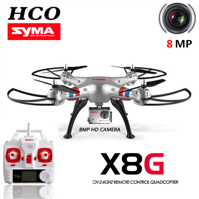 Syma X8G-1 RC Camera Drone with 8 MP HD Camera Professional Training Grade RC Flying Camera Quadcopter RC helicopter