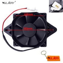 XLJOY ventilador de refrigeración de radiador eléctrico ATV para motocicleta, 200cc, 250cc, Quad, ATV, Go Kart, Buggy, 4 ruedas, Motocross