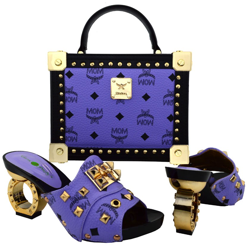 ФОТО 2017 Latest African Matching Shoes And Bag Set Free Shipping Italian Matching Shoe And Bag, Shoes And Bag Set