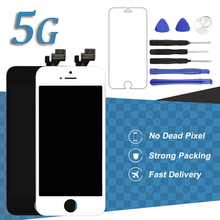 Premium ESR TIANMA OEM No Dead Pixel LCD Display For iPhone 5 Touch Screen Digitizer Assembly With Camera Holder Ear Mesh