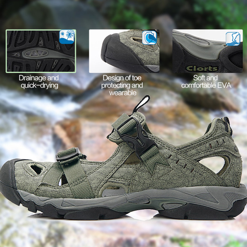 38e357d48d29 Russian Warehouse Clorts Aqua Shoes Men Summer Beach Shoes PU Water Sandals  Mens Water Shoes SD-206C D