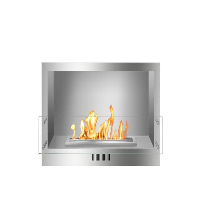 1m Intelligent Smart Remote Controlled Fireplace Frame Ethanol Burner Box