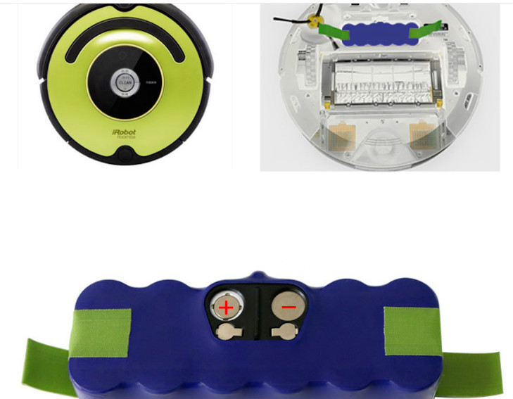 Purple 14.4V 6000mAh Replacement NI-MH Battery for iRobot Roomba 500 510 530 535 540 550 560 570 580 600 620 630 700 760 780 790