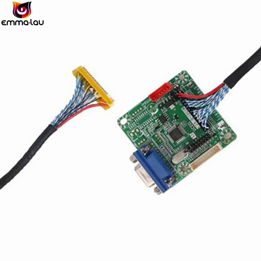 MT561-B 10-42 Inch Universal LVDS LCD TV Monitor Screen Driver Controller  Board With Cable 5V Laptor Computer Parts DIY Kit