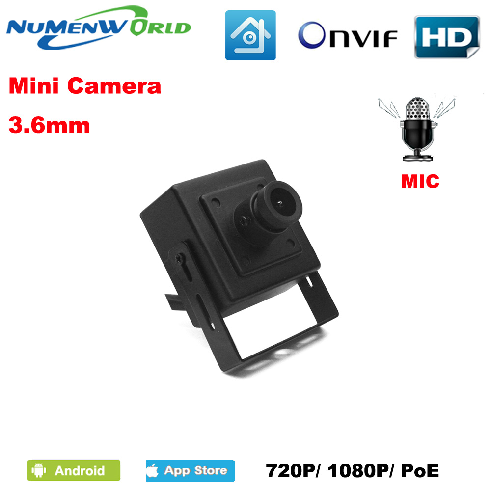 Good Mini IP camera 720P/1080P HD webcam CCTV Surveillance Video camera ONVIF P2P Motion Detection Indoor POE Optional indoor cctv surveillance mini onvif p2p full hd 1080p motion detection poe ip camera audio support for atm shops home security