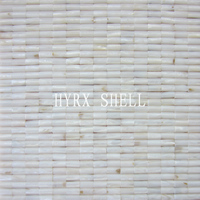 HOT wholesale mesh mounted seamless stripes interior wall tiles mother of pearl shell mosaic tile for interior wall decoration