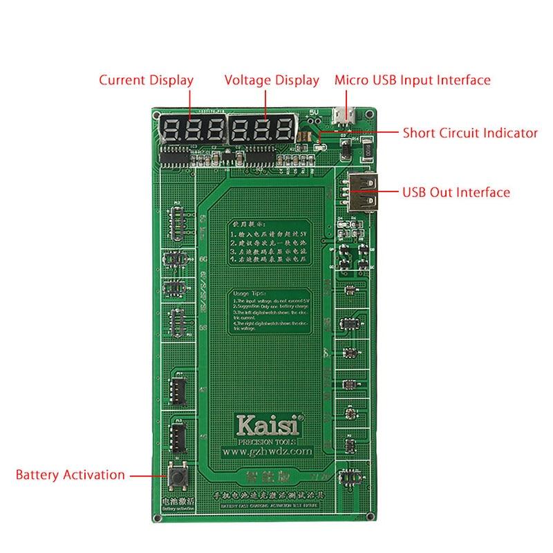 Tablero de prueba de carga de activación de batería profesional + - Juegos de herramientas - foto 2