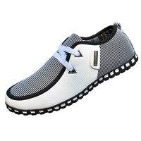 Для мужчин повседневная обувь Новое поступление свет обувь на плоской подошве кожаные Лоферы для женщин Слипоны мужские мокасины обувь для вождения кроссовки мужская обувь mc008