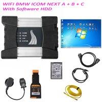 Best качество для BMW WI FI ICOM следующий A + B + C нового поколения ICOM A2 с V201805 Новый icom следующий WI FI Беспроводной программного обеспечения HDD