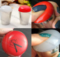 4cm Big Soft Nail Art Stamper Professional Marshmallow Round Nail Art Stamper White Red 2 Colors  (random color)
