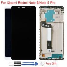 Оригинальный дисплей для Xiaomi Redmi Note 5 Pro ЖК-дисплей с каркасом сенсорный экран сборка ЖК-дисплей Redmi Note 5 дисплей модуль