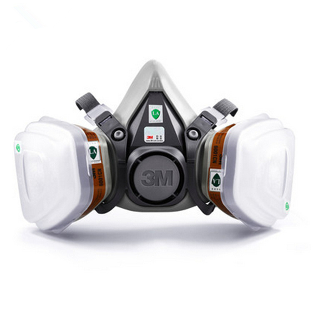 Anti Respirator Kn95 Particulate 6200 Headset Mask 3m 2091 Dust
