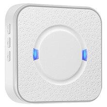 Беспроводной дверной звонок приемник Wifi дверной Звонок камера низкое энергопотребление ик сигнализация беспроводной цветной объектив камера безопасности