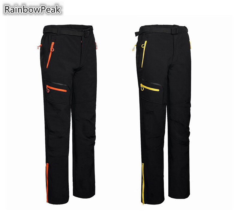 High quality Soft Shell Pants Men s outdoor font b Camping b font Hiking Pants Composite
