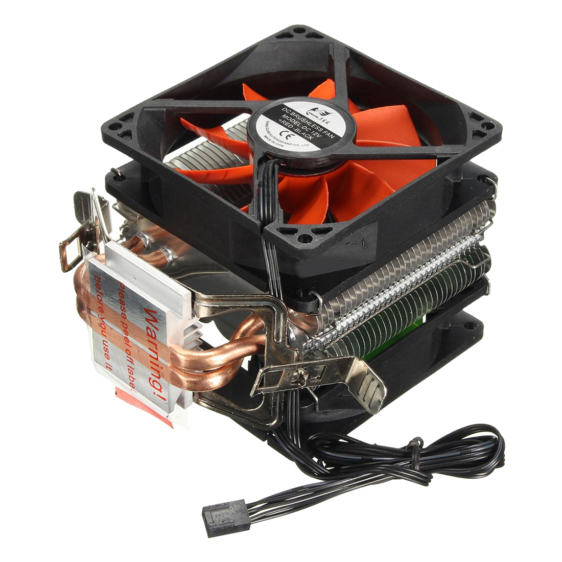 GTFS-CPU cooler Silent Fan For Intel LGA775/1156/1155 (For AMD AM2/AM2+/AM3)