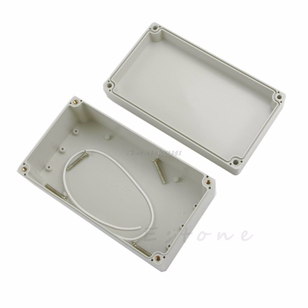 158x90x60mm Waterproof Plastic Electronic Project Box Enclosure Cover CASE