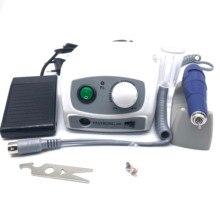 40000 об/мин сильный 210 102л микромотор наконечник и сильный 207B блок управления Электрический дрель для ногтей оборудование для маникюра ногтей