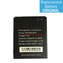 Hot 2200mAh Replacement PSP3504 Battery For Prestigio Muze C3 PSP3504DUO PSP 3504 Duo Bateria Batterie Cell Phone Batteries
