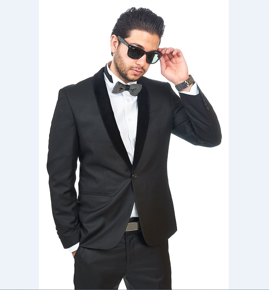 Online Buy Wholesale charcoal black suit from China charcoal black