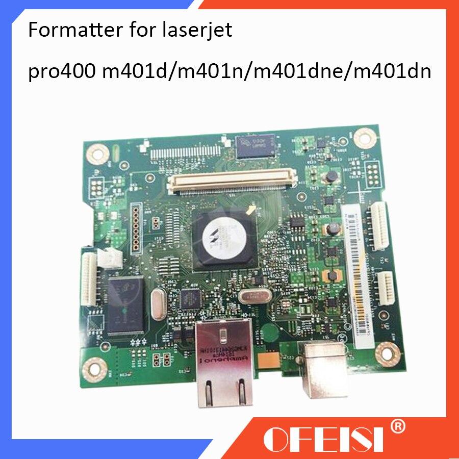 Originale CF148-60001 CF149-60001 CF150-60001 CF399-60001 Formatter Board Per HP LaserJet PRO400 M401D M401N M401DN M401DNEOriginale CF148-60001 CF149-60001 CF150-60001 CF399-60001 Formatter Board Per HP LaserJet PRO400 M401D M401N M401DN M401DNE