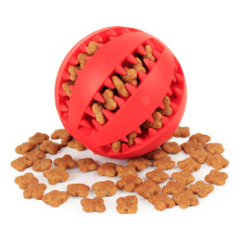 Soft Pet Dog Toys Toy Funny Interactive Elasticity Ball Dog Chew Toy For Dog Tooth Clean Ball Food Extra-tough Rubber Ball Dog