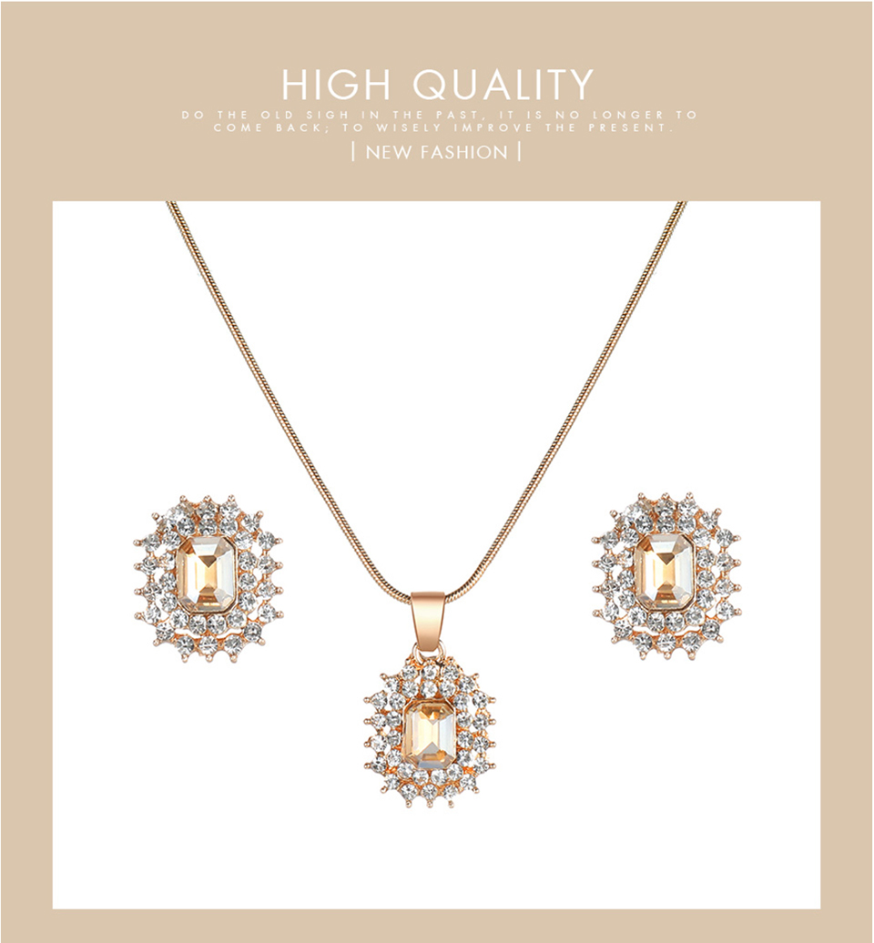 HTB1C1PJef1H3KVjSZFHq6zKppXaz - Luxury Crystal Earrings Necklace Women's Watch Set-Luxury Crystal Earrings Necklace Women's Watch Set