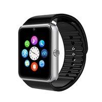 המותג החדש חכם לצפות GT08 סנכרון שעון Notifier קישוריות Bluetooth כרטיס ה-sim תמיכה עבור iphone של אפל אנדרואיד טלפון Smartwatch
