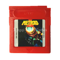 Nintendo Game Boy Color Metroid 2 DX Video Game Cartridge Console Card English Language