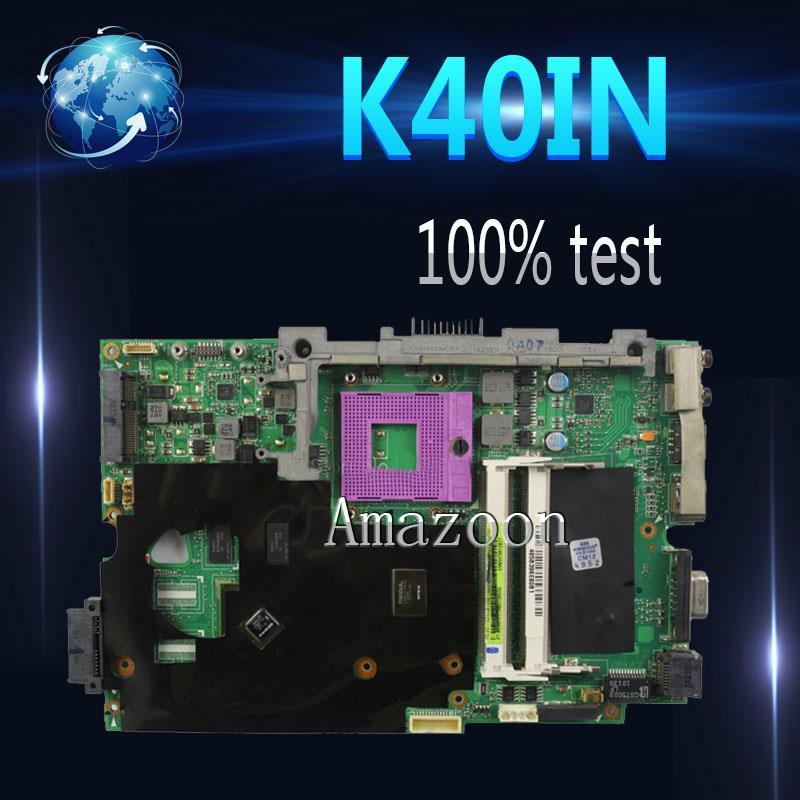 AK K40IN K50IN Laptop motherboard for ASUS K40IN K50IN X8AIN X5DIN K40IP K50IP K40I K50I K40 K50 Test original mainboardAK K40IN K50IN Laptop motherboard for ASUS K40IN K50IN X8AIN X5DIN K40IP K50IP K40I K50I K40 K50 Test original mainboard