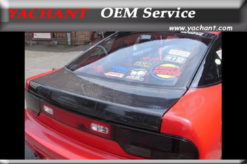 Carro-Styling Acessórios Auto de Fibra de Carbono Completo Escotilha Superior Traseira Fit For 1989-1994 180SX RPS13 OEM Estilo Porta traseira