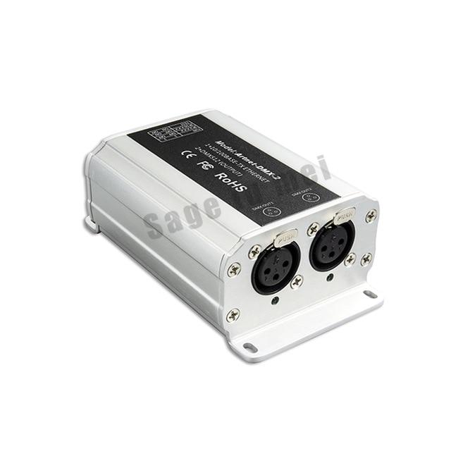 Ltech DC12V Artnet-DMX-2; ArtNet-DMX converter;ArtNet input;DMX 1024 channels output 512x2CH channels by DHL Fedex EMS Express цена