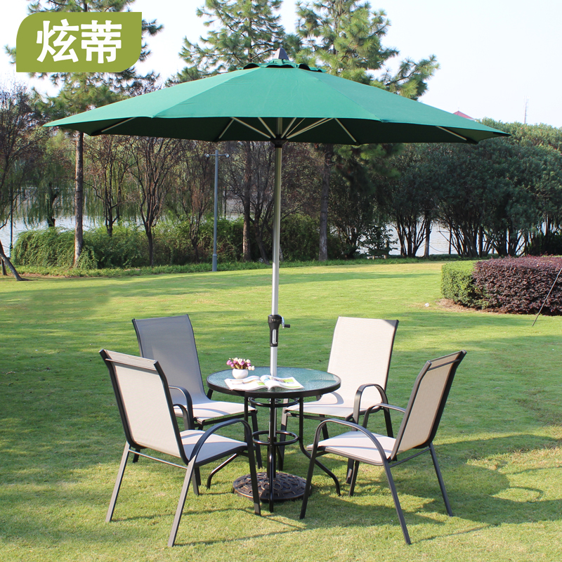 Outdoor table umbrellas promotion shop for promotional for Patio chair with umbrella
