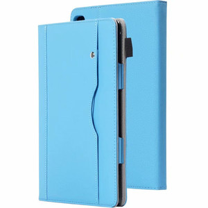 """Image 2 - Luxury Stand Case For Huawei MediaPad M5 lite 10 BAH2 W19/L09/W09 10.1"""" Tablet Cover With Hand Belt For Huawei M5 Lite 10 Case"""