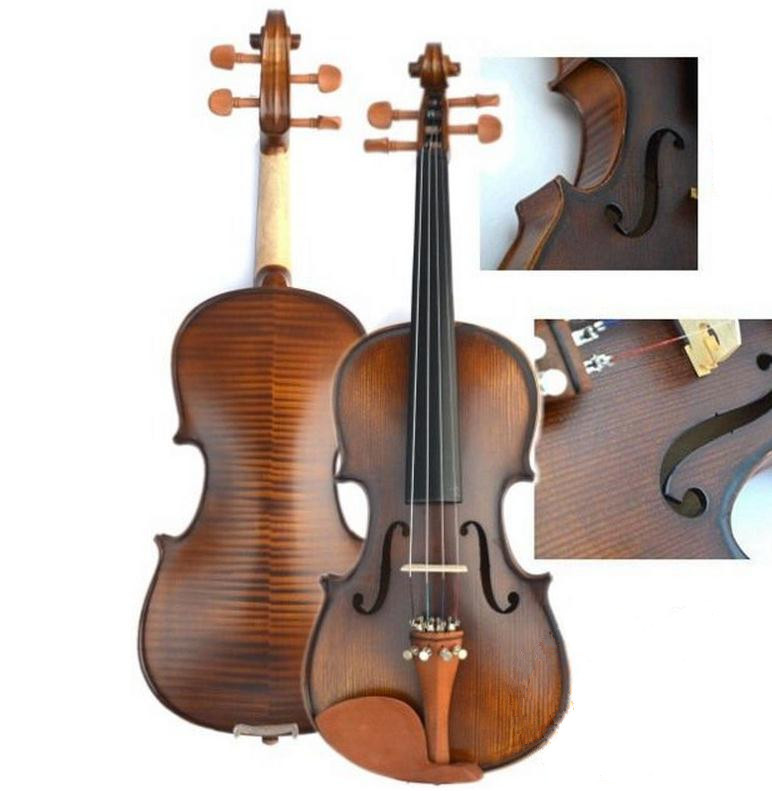 V303 High quality Spruce violin 3/4 violin handcraft violino Musical Instruments violin bow violin strings brand new handmade colorful electric acoustic violin violino 4 4 violin bow case perfect sound