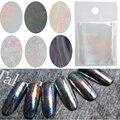 1 Unids 5*20 Cm Shell Sky Nail Art Últimas Holográfico Láminas de Uñas de cristal Brillante Láser de Transferencia de Hojas de Clavo Del Color Del Caramelo etiqueta