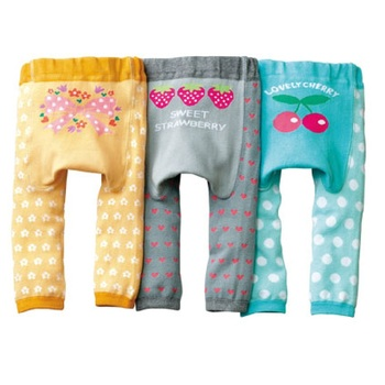 Baby's Animal Printed Cotton Pants 6