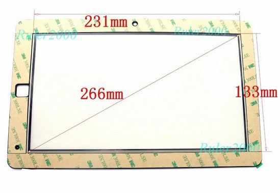 New Touch Panel Digitizer Glass Replacement Touch Screen For 10.1 inch Sylvania SYTAB10ST-Z Tablet Free Shipping original new 10 1 inch touch panel for acer iconia tab a200 tablet pc touch screen digitizer glass panel free shipping