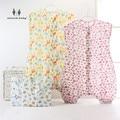 MIRACLE BABY 4 Size Sleepwear Cloth Kid's Sleepsack Cotton Muslin Sleeping Bag Sleeveless Sleepware for 0-5Years Unisex Children