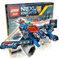 331 шт. 14021 Сочетание Рыцари Аарон Лисы Аэро-Нападающий V2 модель строительные блоки игрушки Nexus Совместимо С Lego