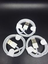 5PCS/Lot Newest Original From Fox conn Factory E75 Chip OD 3.0mm Data USB Cable For iPhone 7 6s plus ipad ios 10 Free shipping