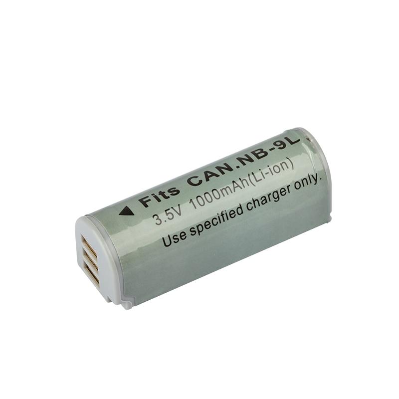Dinto 1pc 3,5 V 1000mAh NB-9L NB9L NB 9L Ersatz Digital Kamera Li-Ion Lithium-Batterie für Canon IXUS 1000 1100